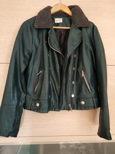 Куртка из эко кожи. Размер 46/48. Цена 1000 сом. в Бишкек