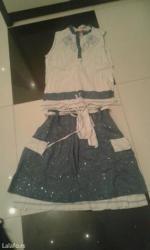 Komplet todor jednom obucen haljinica i majica velicina m - Backa Palanka