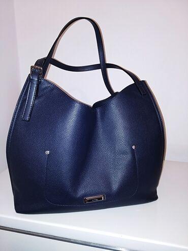 ORIGINAL ORSAY torba, teget plave boje, malo tamnija nego na slikama