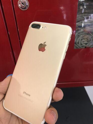 apple iphone a в Кыргызстан: Б/У iPhone 7 Plus 128 ГБ Золотой