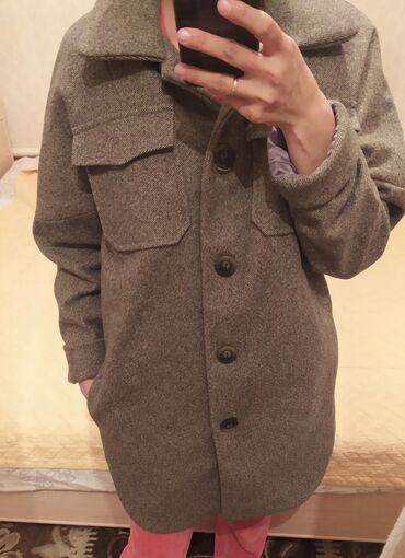 иранские покрывала в Кыргызстан: Пальто рубашка новоеесть еще в свете хаки,размер 44_46 цена