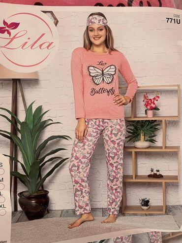 pijama - Azərbaycan: Lila pijama destleri S. M. L. XL