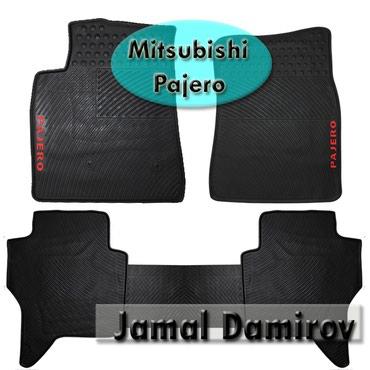 Mitsubishi Pajero üçün silikon ayaqaltilar. Силиконовые коврики для в Bakı