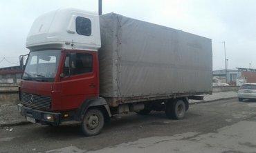 мерс 814. 6-кубб простой, бортовой тент, спальник, длина кузова 6,20м, в Бишкек