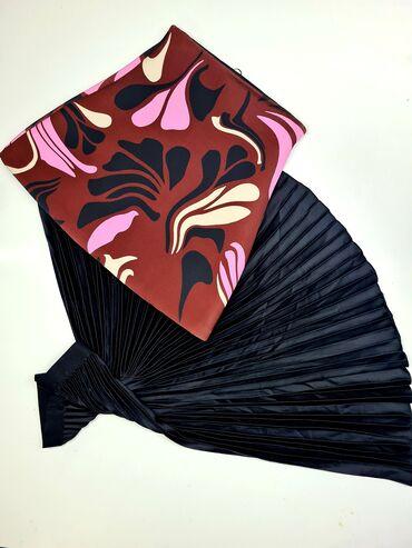 Юбка женское Весна/Лето H&M -20% (Черная) размер: M (Мини) размер