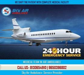 Get 24x7 Hours Medical Aviation Facility in Chandigarh in Kathmandu