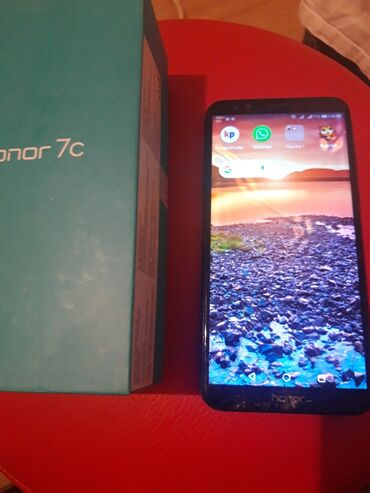 Mobilni telefoni - Sremska Mitrovica: Huawei Honor 7c. Dual kamera, 13pxl. 3gb,32rama. Sve radi ali je