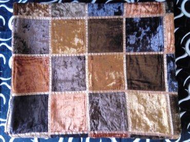 Indijski prekrivac od plisa, nov nekoriscen - Beograd