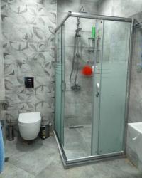 duş üçün gellər - Azərbaycan: Dus kabin hazirlanir
