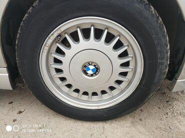 летние шины бу в Кыргызстан: Продаю диски на БМВ е34! По каталогу 2-стиль все колпачки на месте!