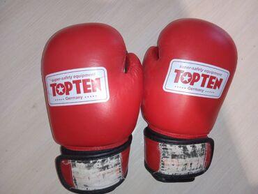 """Спорт и хобби - Кара-Балта: Срочно продаются Боксерские перчатки """"TOP TEN"""" размер 8-OZ"""