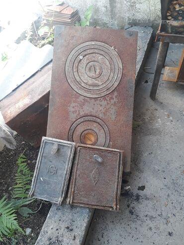плита чугунная в Кыргызстан: Прод плита с дверцами в камплектеСССР.1500СОМ