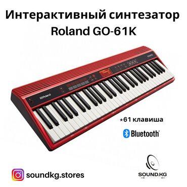 Интерактивный синтезатор - Roland GO-61K  61 клавиша - полноразмерные