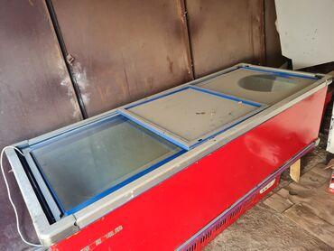 морозильники в бишкеке в Кыргызстан: Морозильник 1.5м х 0.8м высота 0.8м  Рабочий, температура держит