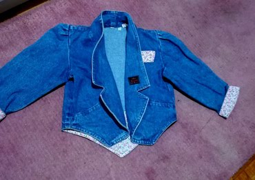 Teksas jakna za devojčice,model kao sakoič povoljno - Batajnica