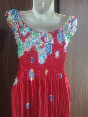 Продаю  платье-сарафан  х/б,  б/у,  в Бишкек