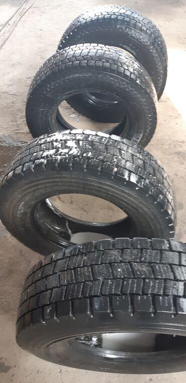 грузовой в Кыргызстан: Продаю шины грузовые размер 235/75/17.5  95% одна пара производства Ге