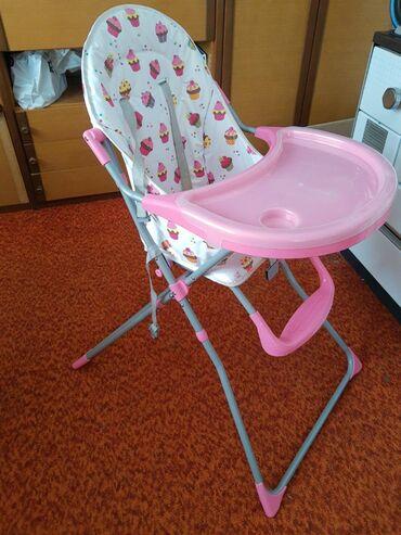 Stolica za hranjenje - Srbija: Stolica za hranjenje. Upotrebljena svega nekoliko puta. Samo ovaj