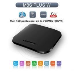 как установить санарип тв в Кыргызстан: Android TV M8S PLUS W Amlogic S905W Smart tv Box 2G ram 16G rom Ультра