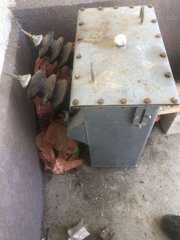 transformator dlja povyshenija naprjazhenija в Кыргызстан: Однофазный трансформатор,мощность 10кВ,с разьединителем,заправленный с