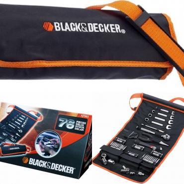 инструменты в Кыргызстан: Автомобильный набор инструментов black & decker a7063-qz 76шт