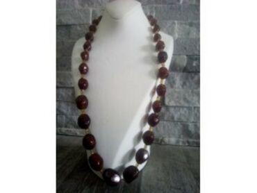 Orginalna Zenska elegantna ogrlica od Baltickog ruskog cilibara