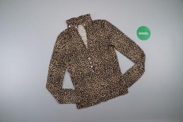 Жіноча блуза в леопардовий принт Angie    Довжина: 54 см Ширина плечей