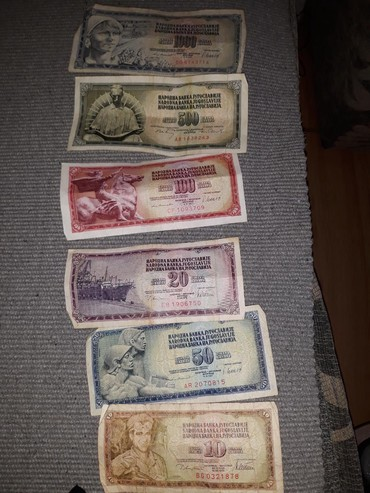 Sport i hobi - Nova Pazova: Stare novcanice,sve za 500 dinara