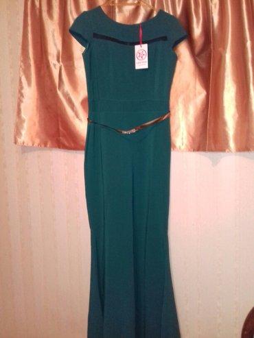 Bakı şəhərində шикарное платье. неношенное новое с этикеткой.размер 40, купила за 59