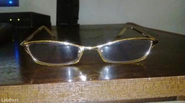 Novo naočare kupljene u italiji, peskarene sa osamnaestokaratnim - Vrnjacka Banja