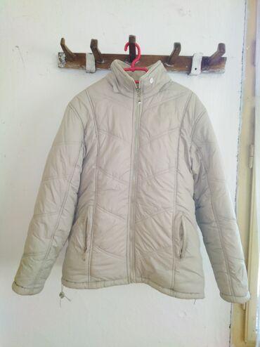 Ženska jakna sa dva lica, prava za zimu. Veličina: XL Očuvana