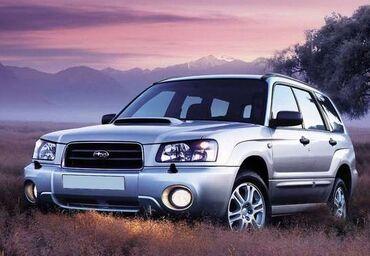 бэушные шины в Кыргызстан: Subaru Forester 2 л. 2003