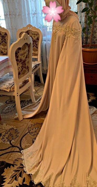 Сдаю напрокат мусульманское свадебное платье на никах, с красивыми