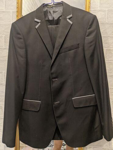 Шикарный мужской костюм, ИТАЛИЯ, как новый! Качество люксовое! Размер