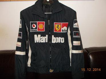 Muška odeća | Lazarevac: Moto jakna MARLBORO. Bez mehaničkih oštećenja, jedino štorajsferšlusi