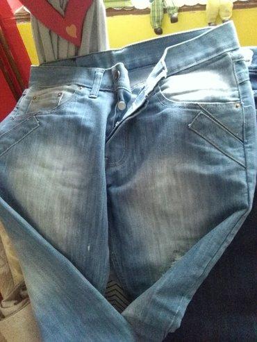 Cna broju - Srbija: Muske texsas pantalone kupljene u italiji, extra cena,bro 32