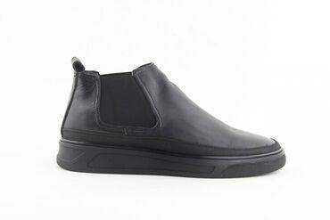 5535 объявлений: Ботинки Челси Мужские Осень Цвет чёрный Новые Q06-12
