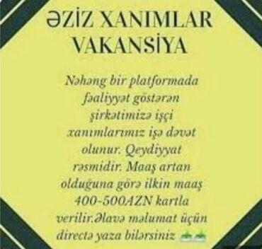 Xanımların nəzərinə, buyura bilərsiz