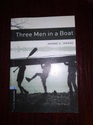 u boat - Azərbaycan: İngilis dilində hekayə kitabı B1 Oxford stage 4  Three man in a Boat 1