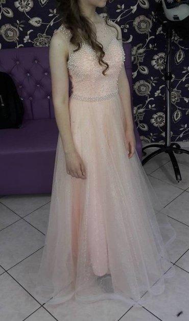 Платье на выпускной нежно персикового в Бишкек