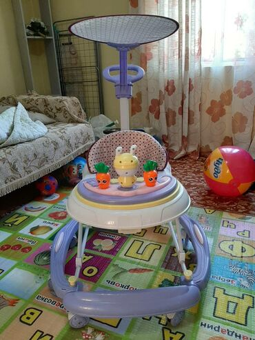 Ходунки 5 в 1Ребенок в них может- ходить - кататься как на кресло