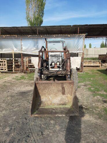 продам трактор т 150к б у в Кыргызстан: Продаю трактор с куном в рабочем состоянии