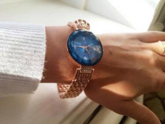 gold часы в Кыргызстан: Женские легендарные часы Baosaili кварцевые на батарейке с голубым