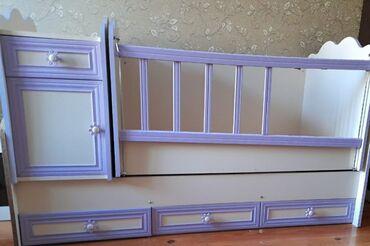 Uşaq yatağı,iki il istifadə olunub