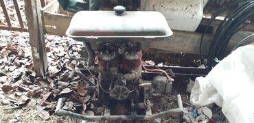 Su nasosu üçün motor iki silindirlidir. Başqa texnikalarda da istifad