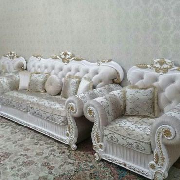 Новый диван кресло комплект, в Лебединовка