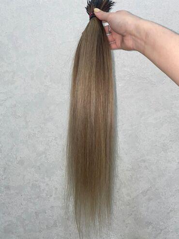 Красота и здоровье - Кыргызстан: Настоящие волосы б/у покупала за 50000 сомов . Носила не долго, про