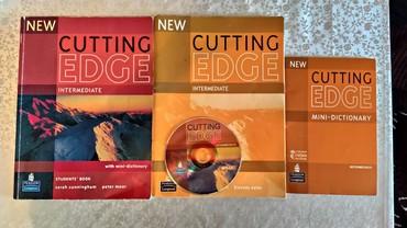 Bakı şəhərində Cutting Edge intermediate level. Есть книга, рабочая