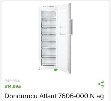 dondurucu - Azərbaycan: No Frostİstehsalçı - Atlant Tip - Dondurucu kamera Ölçülər sm -