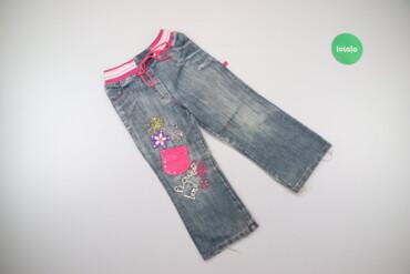 Дитячі джинси для дівчинки Joyful, вік 5 р., зріст 110 см    Довжина